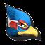 Icône Falco blanc U
