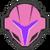 Icône Samus sombre rose Ultimate
