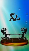 Trophée Mr. Game & Watch Melee