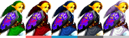 Couleurs Link Melee