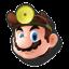 Icône Dr. Mario jaune U