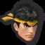 Icône Ryu noir U