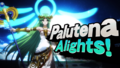 Splash art Palutena SSB4