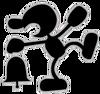Mr. Game & Watch Artwork SSBB