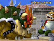 Félicitations Bowser Melee All-Star