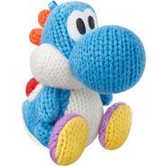 Yoshi de laine bleu clair