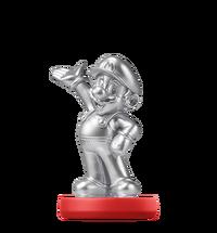 Amiibo Mario argent