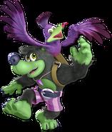 Art Banjo & Kazooie vert Ultimate