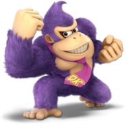 Art Donkey Kong bleu Ultimate