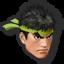 Icône Ryu vert U
