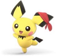 Art Pichu rouge Ultimate