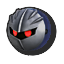 Icône Meta Knight bleu foncé U