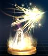 Trophée Flèche de lumière Zelda Brawl