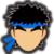 Icône Ryu gris Ultimate