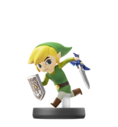 Amiibo Link Cartoon SSB