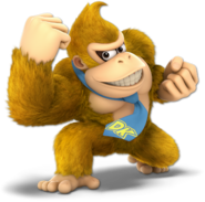 Art Donkey Kong jaune Ultimate