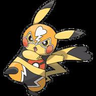Art Pikachu Catcheur