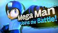 Splash art Mega Man SSB4