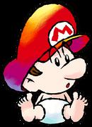 Art Bébé Mario SMA3