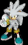 Art Silver Mario & Sonic 2010