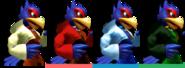 Couleurs Falco Melee