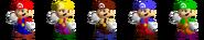 Couleurs Mario 64
