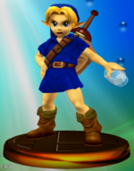 Trophée Link Enfant Smash 2
