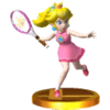 Trophée Peach tennis SSB4 3DS
