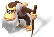 Artwork Cranky Kong Tropical Freeze