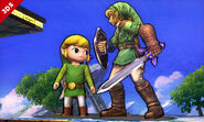 Link Cartoon SSB4 Profil 10