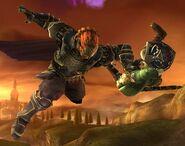 Ganondorf attaques Brawl 6