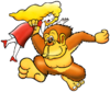 Art DK & Lady Donkey Kong