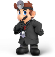 Art Dr. Mario noir Ultimate