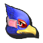 Icône Falco rouge U