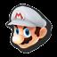 Icône Mario blanc U