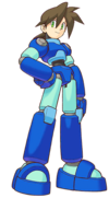Art MegaMan Volnutt Legends