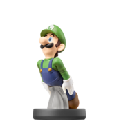 Amiibo Luigi SSB