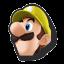 Icône Luigi jaune U