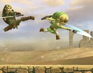 Link Cartoon attaques Brawl 5
