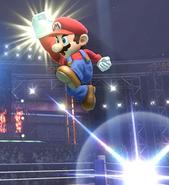 Mario SuperPoingSauté SSB4WiiU