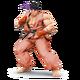 SSB4 Ryu rouge