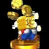 Trophée Mario (bloc d'or) SSB4 3DS