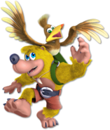 Art Banjo & Kazooie jaune Ultimate