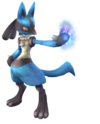 Artwork Lucario SSBB
