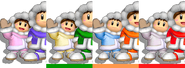 Couleurs Ice Climbers Melee