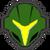 Icône Samus sombre vert Ultimate