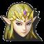 Icône Zelda rose U
