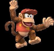 Diddy Kong Artwork SSBB