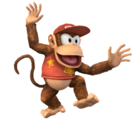 Diddy Kong Artwork SSBB