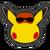 Icône Pikachu rouge 2 Ultimate